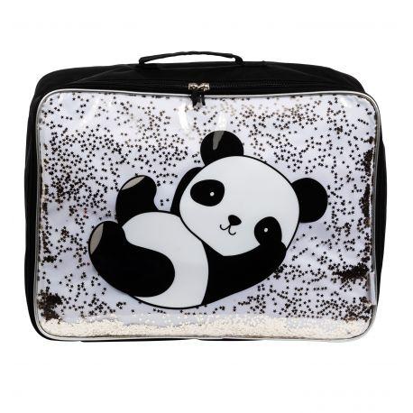 Koffer Glitter panda