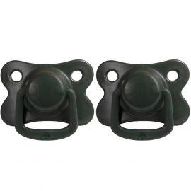 Set van 2 tutjes - Dark green - 6m+