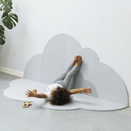 Speelmat - Head in the clouds L - Pearl Grey