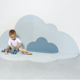 Speelmat - Head in the clouds L - Dusty Blue