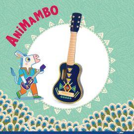 Animambo guitaar met 6 metalen snaren