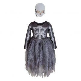 Heksenjurk met masker - Skelet