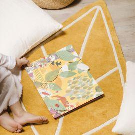 Katoenen tapijt - Autumn leaf