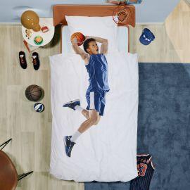 Bedset Basketball Star Blue - 140 x 200 cm