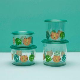 Set van 2 kleine snackdozen - Tiger