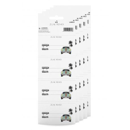 Naamlabels - Monte Carlo - 20 labels