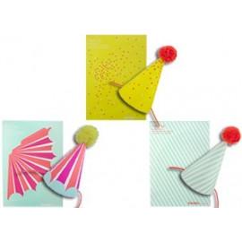 carte postale 'Chapeau pointu' DIY