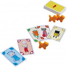 kaartspel 'Miauw Miauw' in blikken doosje