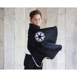 zwarte verkleedcape 'Jori'