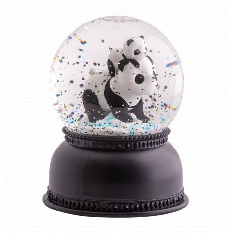 Sneeuwbal nachtlampje Panda